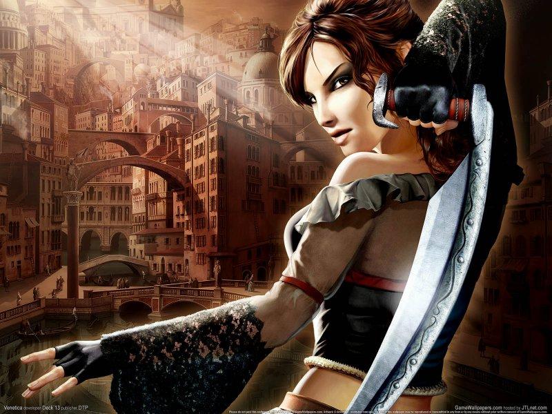 Скарлетт — главная героиня игры Venetica