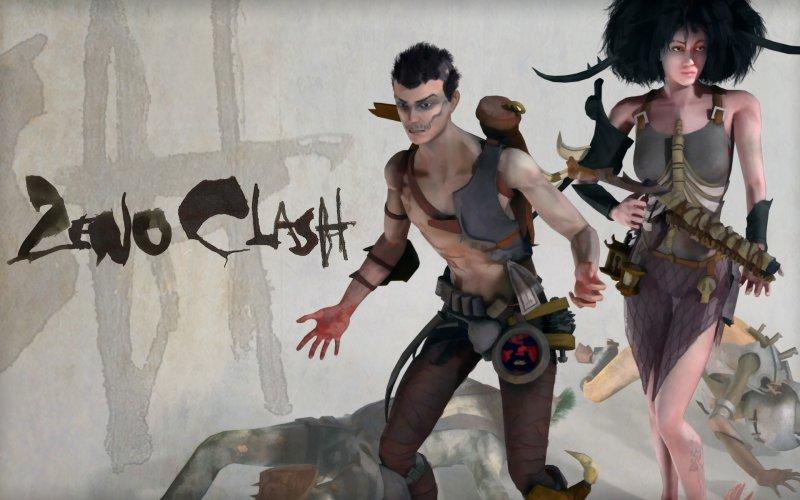 Герои Zeno Clash: Гэт и Дэдра