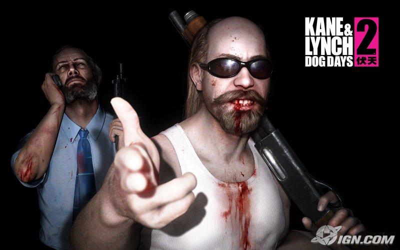Главные герои Кейн и Линч (Kane and Lynch 2: Dog Days)