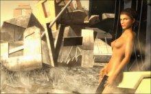 Обнаженная Аликс Вэнс (Half-Life 2: Episode One)