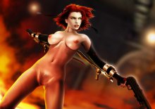 Обнаженная Рейн (BloodRayne 2)