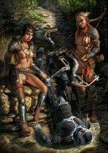 Эротический арт по игре Crysis