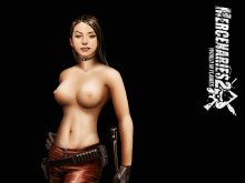 Обнаженная Дженифер Мю (Mercenaries 2: World In Flames)