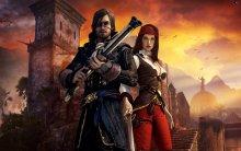 Главный герой игры Risen 2: Dark Waters и его напарница Пэтти