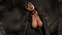 Обнаженная Женщина-кошка (Batman: Arkham City)