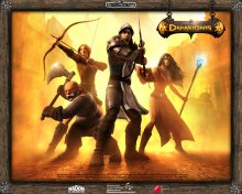 Герои игры Drakensang: The Dark Eye