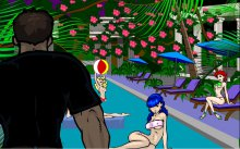 Krupt on the job, erotic flash game Officer Krupt 2