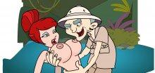 Мечты Эрни, героя эротической флешки The Dirty Ernie Show