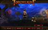 Главное меню игры Torchlight с nude-патчем