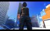Mirror's Edge с nude-патчем, полуголая главная героиня (вид снизу)