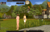 Голая NPC (вид сзади), nude-патч для Shaiya