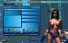 Обнаженная героиня в меню настройки, Champions Online с nude-патчем