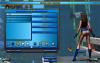 Голая девушка в меню настройки (вид сзади), Champions Online с nude-патчем