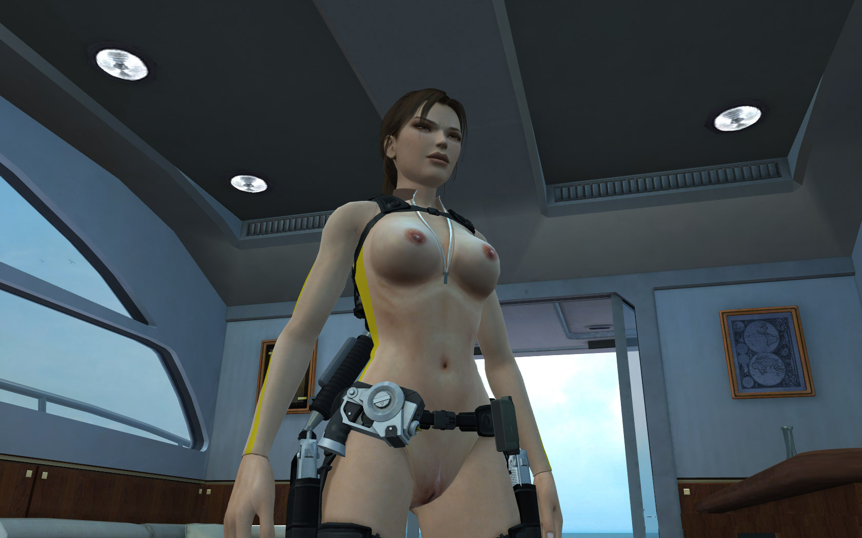 Lara croft no clothes mod uncensored erotic movie
