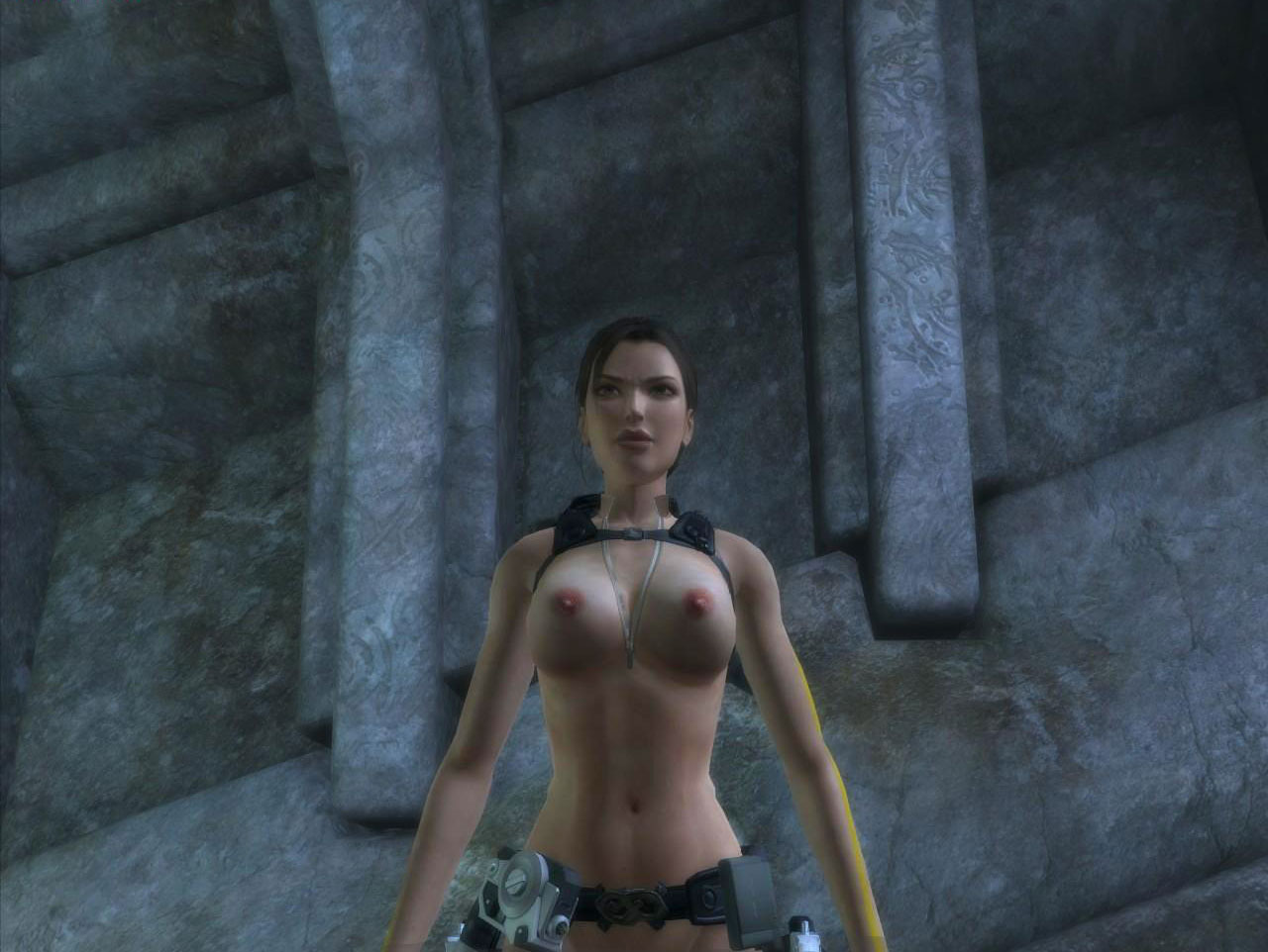 Lara croft legend amanda naked exposed pic
