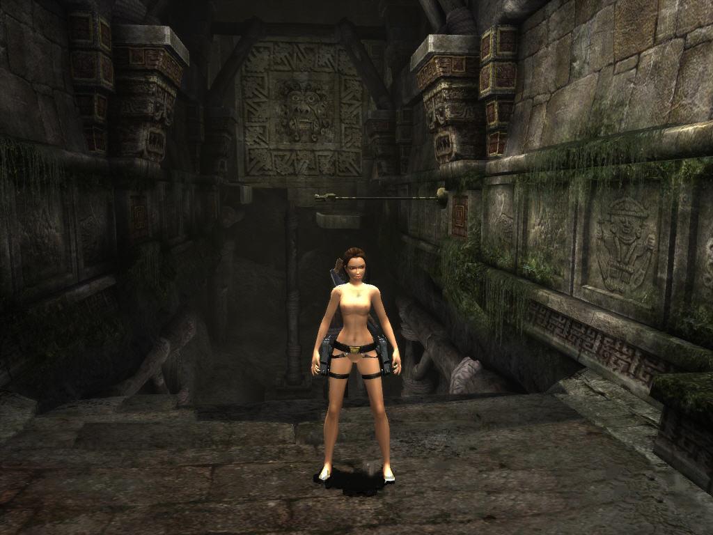 Lara croft nude patch
